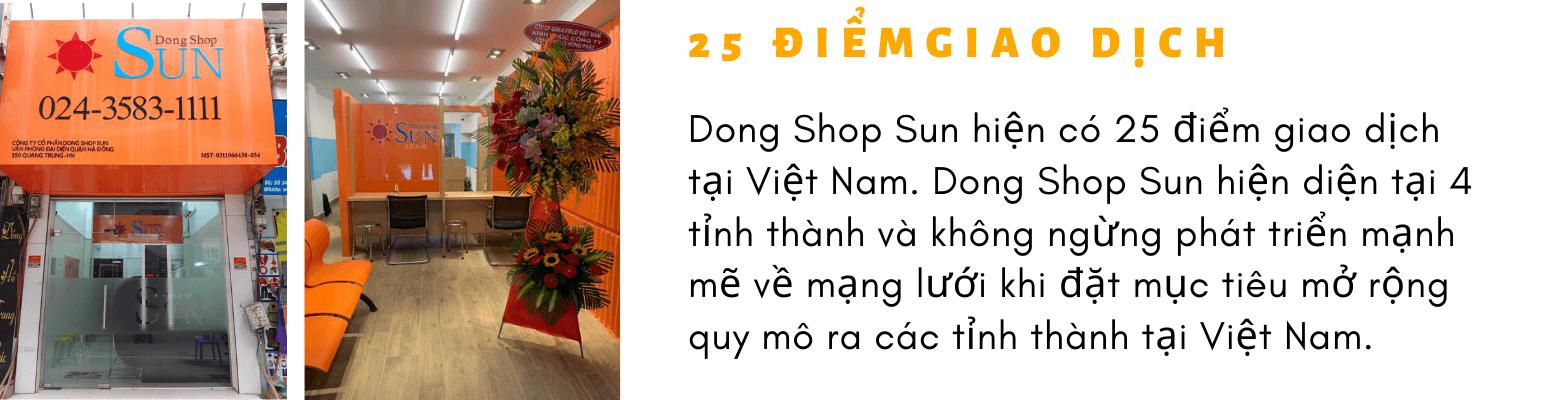 25 điểmgiao dịch | Vay Tiền Dong Shop Sun