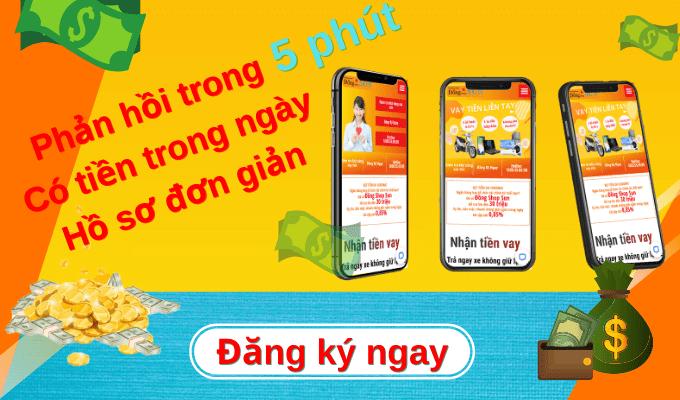 đăng ký ngay trong 5phut | Vay Tiền Dong Shop Sun