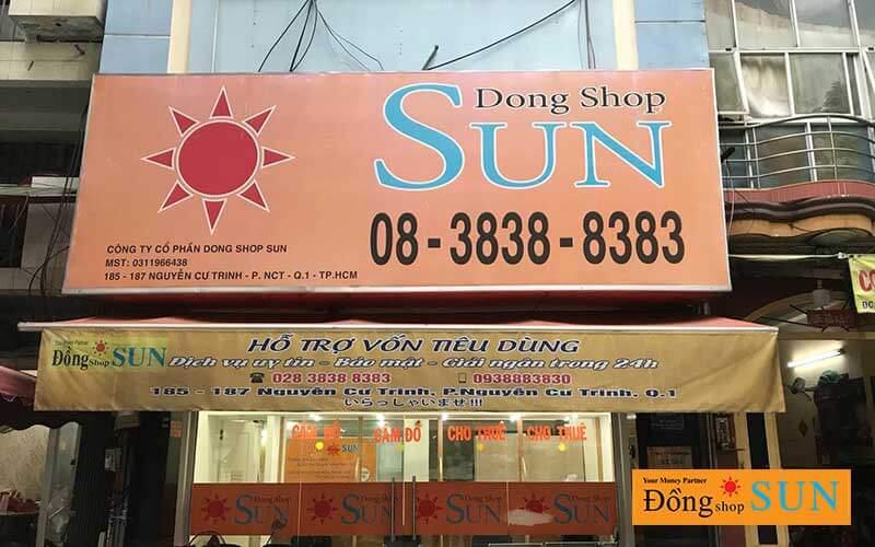 DONG SHOP SUN Hồ Chí Minh CHI NHÁNH NGUYỄN CƯ TRINH(QUẬN 1) - Dấu hiệu cửa hàng