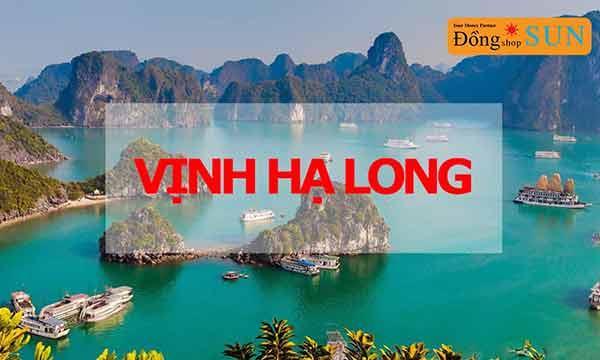 Bãi biển Vịnh Hạ Long
