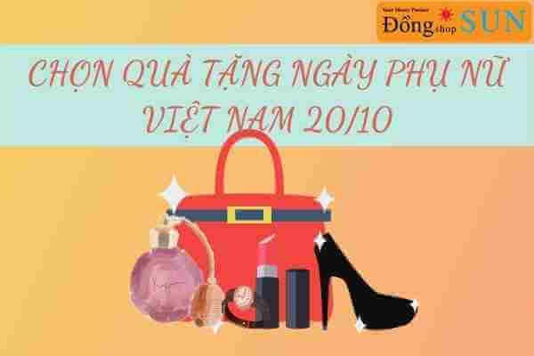 Quà tặng cho ngày Phụ Nữ Việt Nam