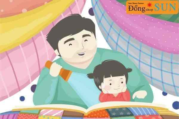 Lợi ích của việc kể chuyện cho trẻ