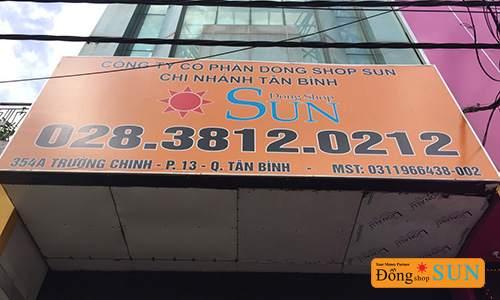 DONG SHOP SUN Hồ Chí Minh – CHI NHÁNH 354A TRƯỜNG CHINH (QUẬN TÂN BÌNH)