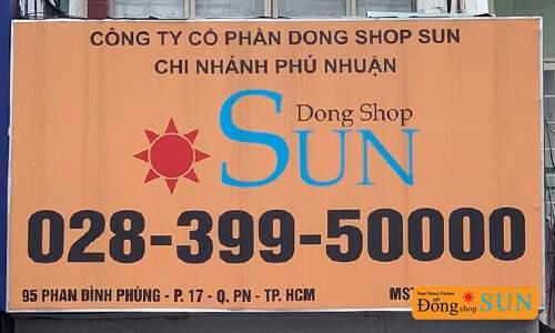 DONG SHOP SUN Hồ Chí Minh – CHI NHÁNH PHAN ĐÌNH PHÙNG (QUẬN PHÚ NHUẬN)