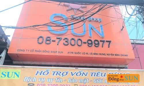DONG SHOP SUN Hồ Chí Minh – CHI NHÁNH QUỐC LỘ 50 (HUYỆN BÌNH CHÁNH)
