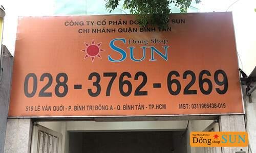 DONG SHOP SUN Hồ Chí Minh – CHI NHÁNH LÊ VĂN QUỚI (QUẬN BÌNH TÂN)