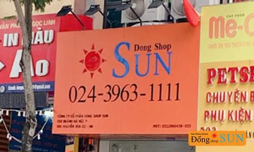 DONG SHOP SUN Hà Nội – CHI NHÁNH NGUYỄN VĂN CỪ (QUẬN LONG BIÊN)