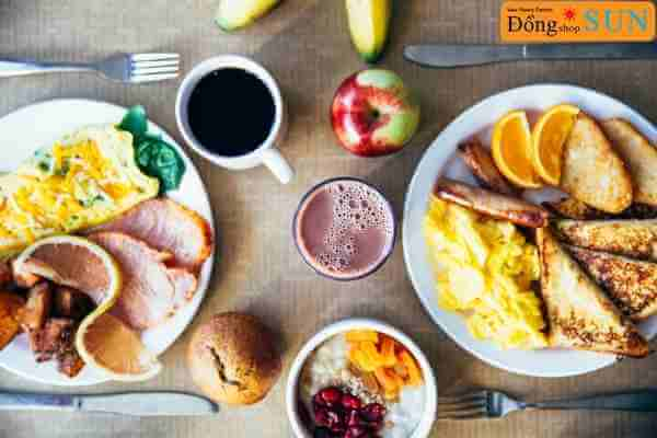 Một số loại thực phẩm tốt để dùng cho bữa ăn sáng