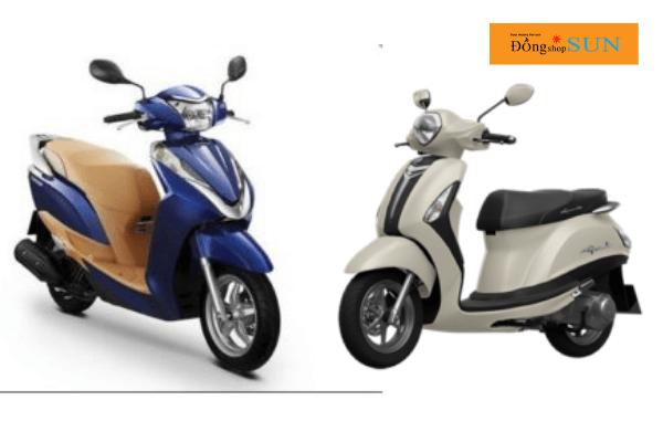 Chọn mua xe máy theo thiết kế xe