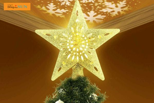 Ngôi sao trang trí cây thông Noel