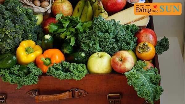 Ăn nhiều trái cây và rau quả hơn