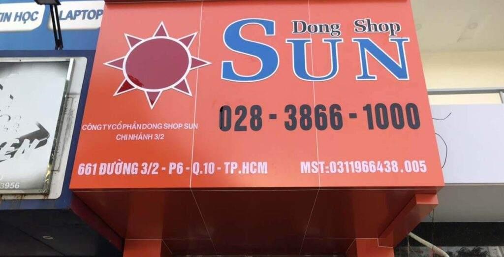 Dong Shop Sun chi nhanh 6