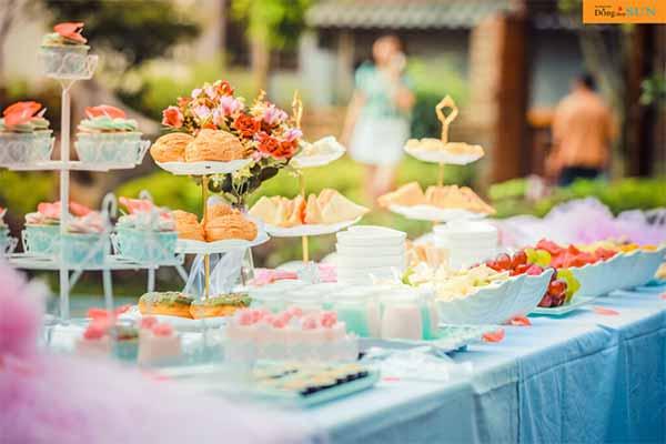 Chọn thực đơn tiệc cho đám cưới