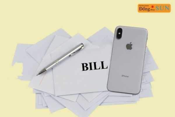 vay tiền bằng hoá đơn mua điện thoại